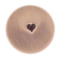 The Urban Beader - Solid Heart Design Stamp - 1.5mm
