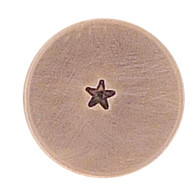 The Urban Beader - Solid Star Design Stamp - 1.5mm
