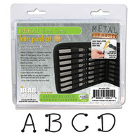Beadsmith - Dots Uppercase Metal Stamp Set 3mm