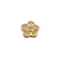 Brass Solderable Accent - Pansy 24g