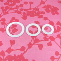 2mm Chunky Aluminium Circle Washer Stamping Tag Blank - Select Size