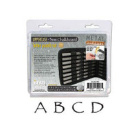Beadsmith - Chalkboard Uppercase Metal Stamp Set 3mm