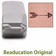 Beaducation Large Classic Arrow Design Stamp Medium 11.5x3mm
