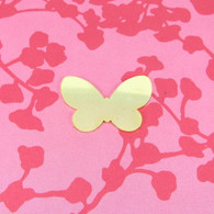 Brass Butterfly Stamping Tag Blank
