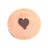 The Urban Beader - Heart Solid Design Stamp - 3mm