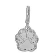Dog Paw Dangle Memory Charm