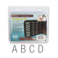 Beadsmith - Gothic Uppercase Metal Stamp Set 1.5mm