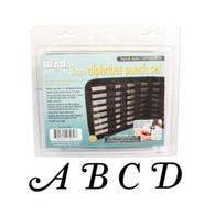Beadsmith - Stylish Italic Uppercase Metal Stamp Set 3mm