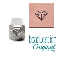 Beaducation Small Diamond Design Stamp 5mm