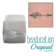 Beaducation Boho Arrow Design Stamp 16mm