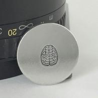 Brain Metal Design Stamp - 6mm