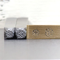 Carnation Style 1 Metal Design Stamp