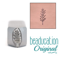 Large Winter Tree Metal Design Stamp 11mm - Beaducation