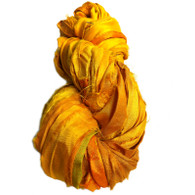 Silk Sari Ribbon Fair Trade - Yellow