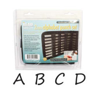 Beadsmith - Handwritten Uppercase Metal Stamp Set 2mm