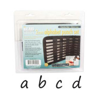 Beadsmith - Handwritten Lowercase Metal Stamp Set 2mm