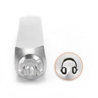 IMPRESSART - Headphones Metal Stamp - 6mm