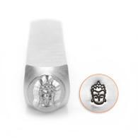 IMPRESSART - Heart Chakra Metal Stamp - 6mm