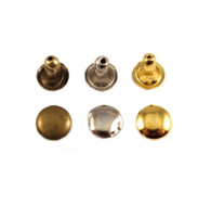 Rivet  Double Cab Plain 6mm pack of 10