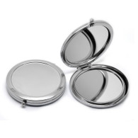 1pc Makeup Compact Mirror Small with Stamping Blank