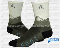Custom Yale Socks