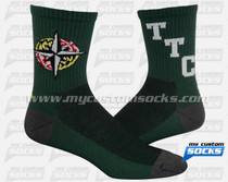 Custom University of Maryiland Socks