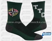 Custom University of Maryiland Socks