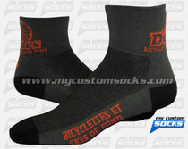 Custom Demers Bicycle Socks