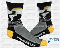 Custom Socks: Club de Trail Le Coureur