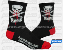 Custom Socks: Bone Bender Mountain Bike Race