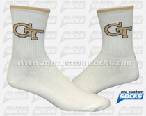 Custom Georgia Institute of Technology Lacrosse Socks