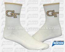 Custom Georgia Institute of Technology Lacrosse Socks
