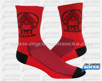 Custom Apex Wrestling School Socks