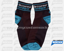 Custom Le Coureur Nordique Socks