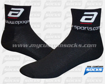 Custom Apogee - Black Socks