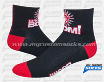 Custom Socks: Carb BOOM!