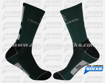 Custom Elite Socks: Christ School Student Team