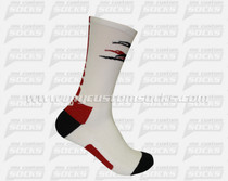 Custom Elite Socks: Crusaders Lacrosse New York Team