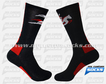 Custom Elite Socks: Crusaders Lacrosse New York Team