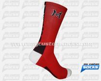 Custom Elite Socks: Mossy Rock Track & Cross Country Team