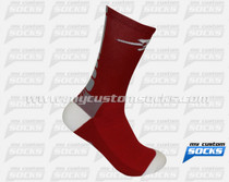 Custom Elite Socks: Rockets High School Wrestling Team
