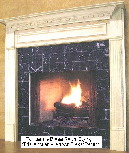Mantel Sizing | Glossary | Extended Returns | Chase