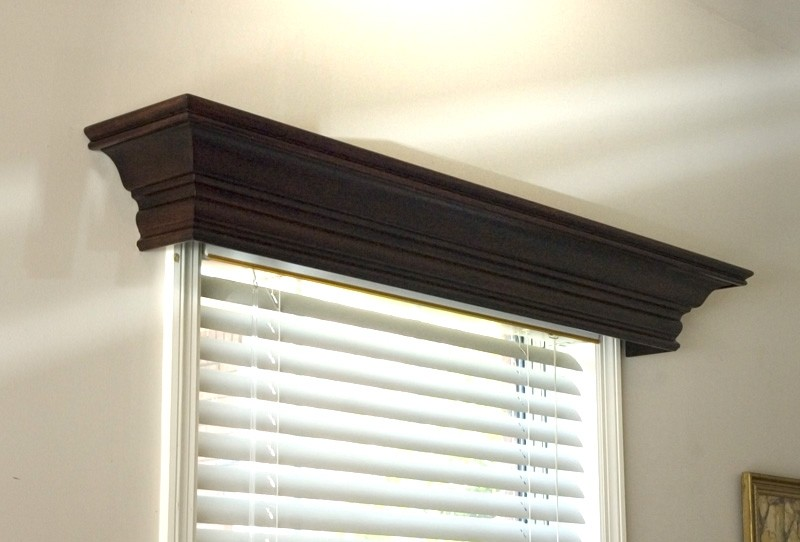 beautiful wood window cornices design the space