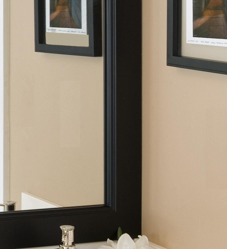 bathroom mirror frames bathroom mirror vanity mirror frame mirrors grant - Mirror Frame Molding