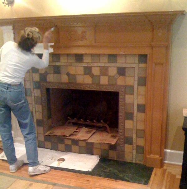 St. George Mantel in Maple | Natural Finish