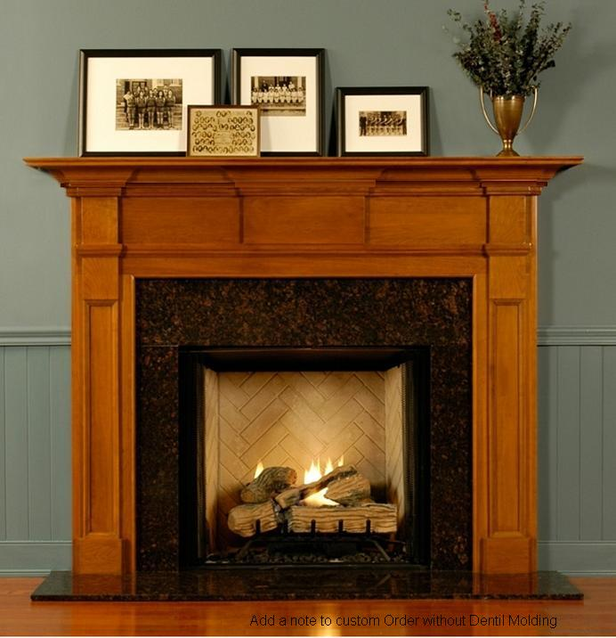 fireplace mantels ship in as few as 7 days