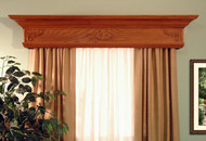 Let your windows say something by adding the Wilmington custom wood cornice