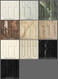Color chart for marble mantels.