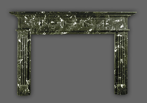 Amazing artwork is what makes the Hamilton marble mantel a timeless piece of art to the eye.