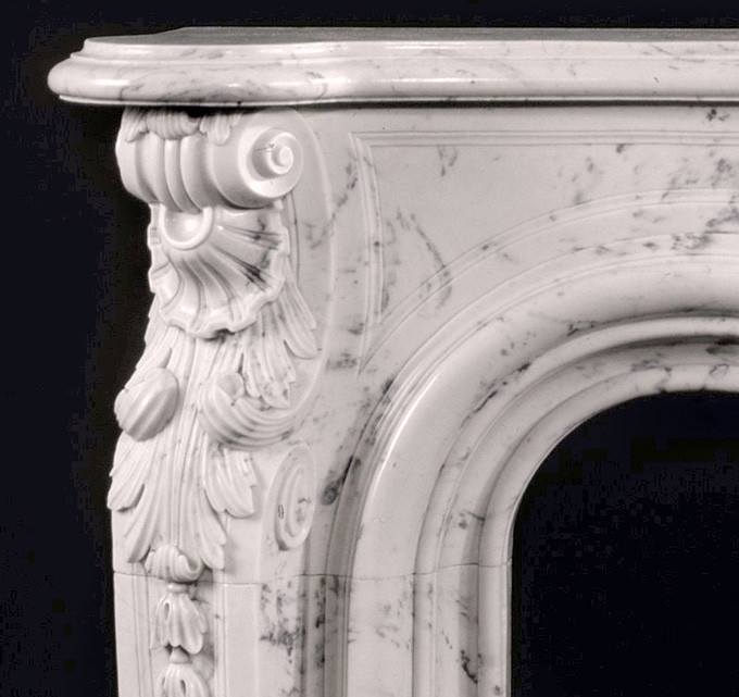 Antique Marble Mantels